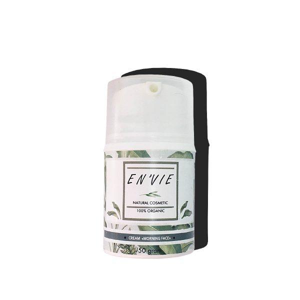 Крем дневной - утренний. Купить крем для лица увлажнение и сухая кожа, для жирной кожи натуральный органический ручная работа - Envie Cosmetic - цена отзывы, состав, как использовать и наносить - Envie.com.ua (фото товара)