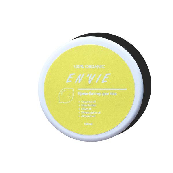 Купить Крем-баттер для тела с ароматом цитрусовый микс (150 мл.) - натуральная косметика ручной работы от Envie Cosmetic (Енви, Энви) цена, отзывы (фото)