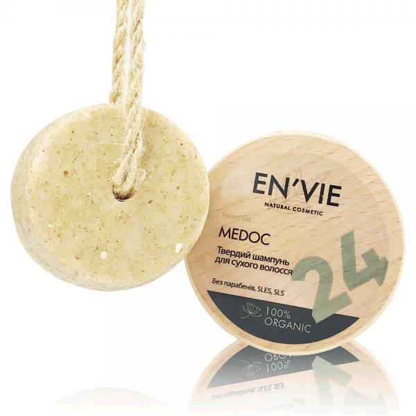 Натуральный органический твердый шампунь для сухих волос MEDOK - профессиональный, ручной работы - Купить в Украине - Envie.com.ua